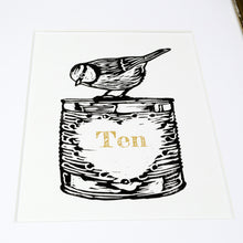 Load image into Gallery viewer, 'Tin' 10th anniversary handmade print