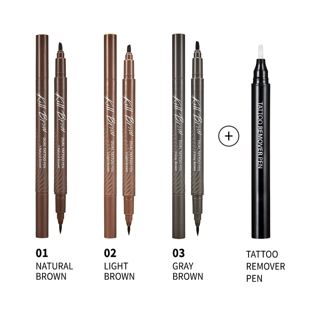 Clio Kill Brow Dual Tattoo Pen Set Clubclio Official K2 short pen machines with german. clio