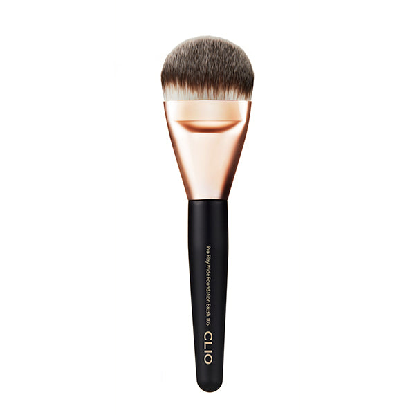 CLIO Pro Play Wide Foundation Brush 105 - CLUB CLIO