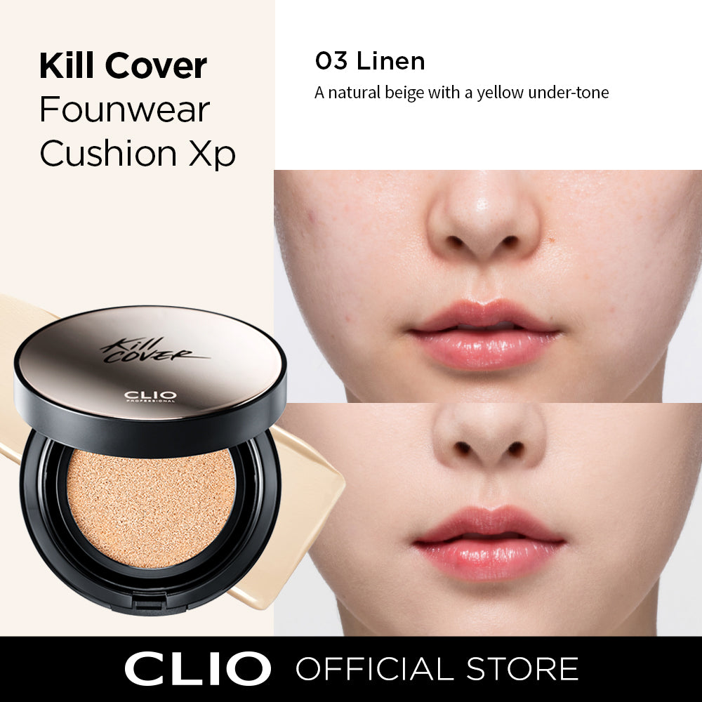 [CLIO] Kill Cover Founwear Cushion XP Set (+Refill) - CLUB CLIO