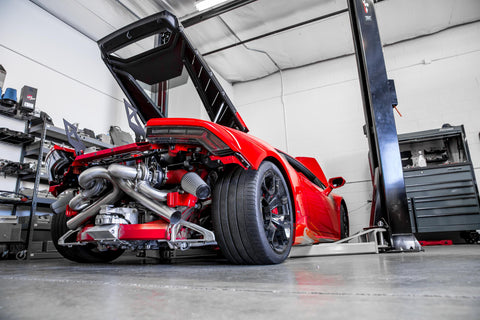 CFI Designs Lamborghini Huracán twin turbo kit