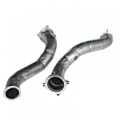 Exhaust Downpipe For McLaren 720 (heat-shielded)