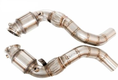 Downpipes with Gesi UHO Cats for BMW X6M (F86)