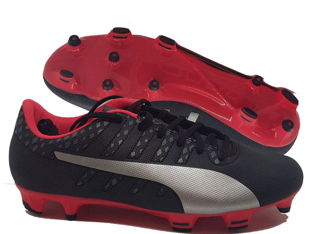 PUMA evoPOWER Vigor 4 FG (Black)
