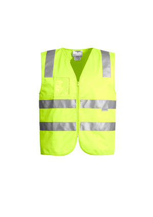 Copy of UNISEX HI VIS FULL ZIP VEST (YELLOW)