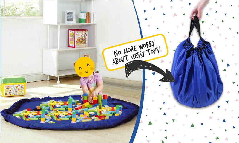 THE TOYS BAG™ play-mat and storage bag
