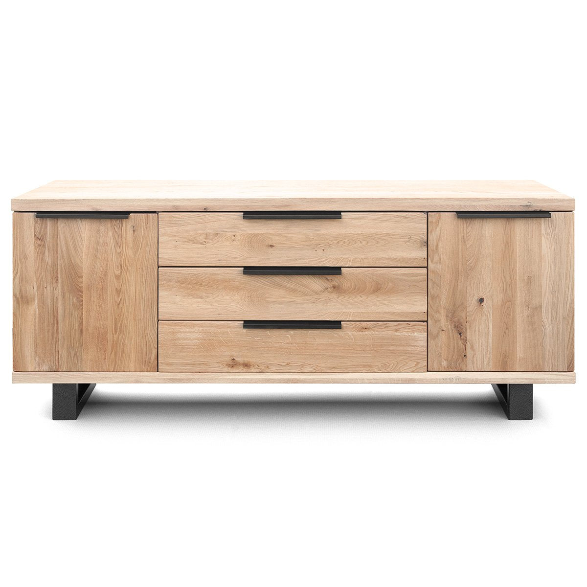 Graphitbeine | Sideboard-Buffet-Roma-Gold