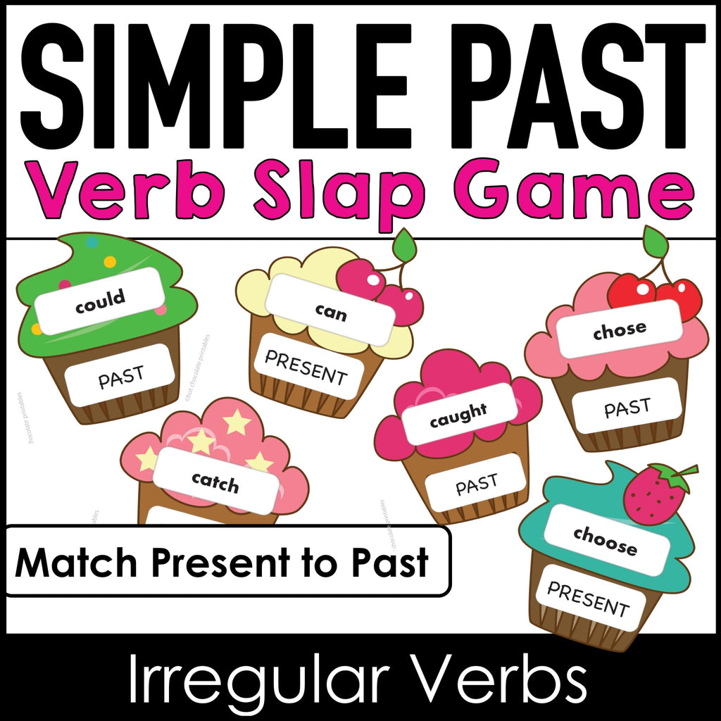 Irregular Verb Game - Slap It - Hot Chocolate Education