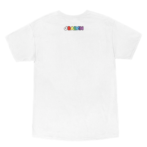 Colores Tracklist Tee (Blanco) + Digital Album