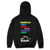Colores Tracklist Hoodie (Negro)