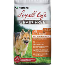 Load image into Gallery viewer, Loyall Life Grain Free Beef & Sweet Potato Dog Food