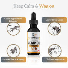 Load image into Gallery viewer, Pet Pawsitive - Hemp Oil : Calming Oil