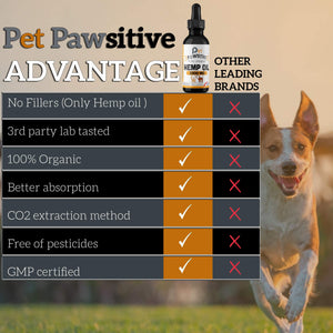 Pet Pawsitive - Hemp Oil : Calming Oil