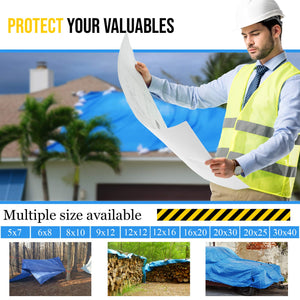 Multi-purpose Waterproof Poly Tarp ( For under you X-Pen to protect your floor)