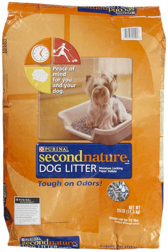 Purina Second Nature Dog Litter and Training Guide, 25-Pound