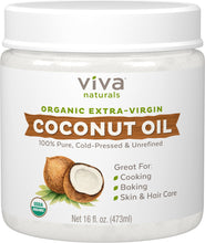 Load image into Gallery viewer, Viva Naturals Organic Extra Virgin Coconut Oil