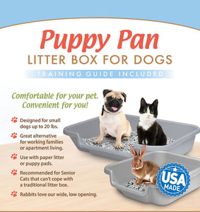 Puppy Go Here Dog Litter Pan