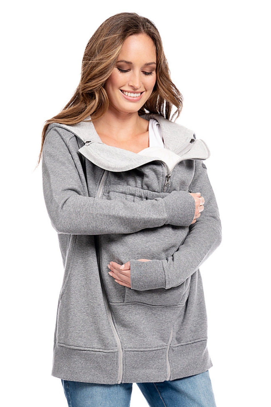 Maternity - Connor 3 in 1 Active Hoodie.