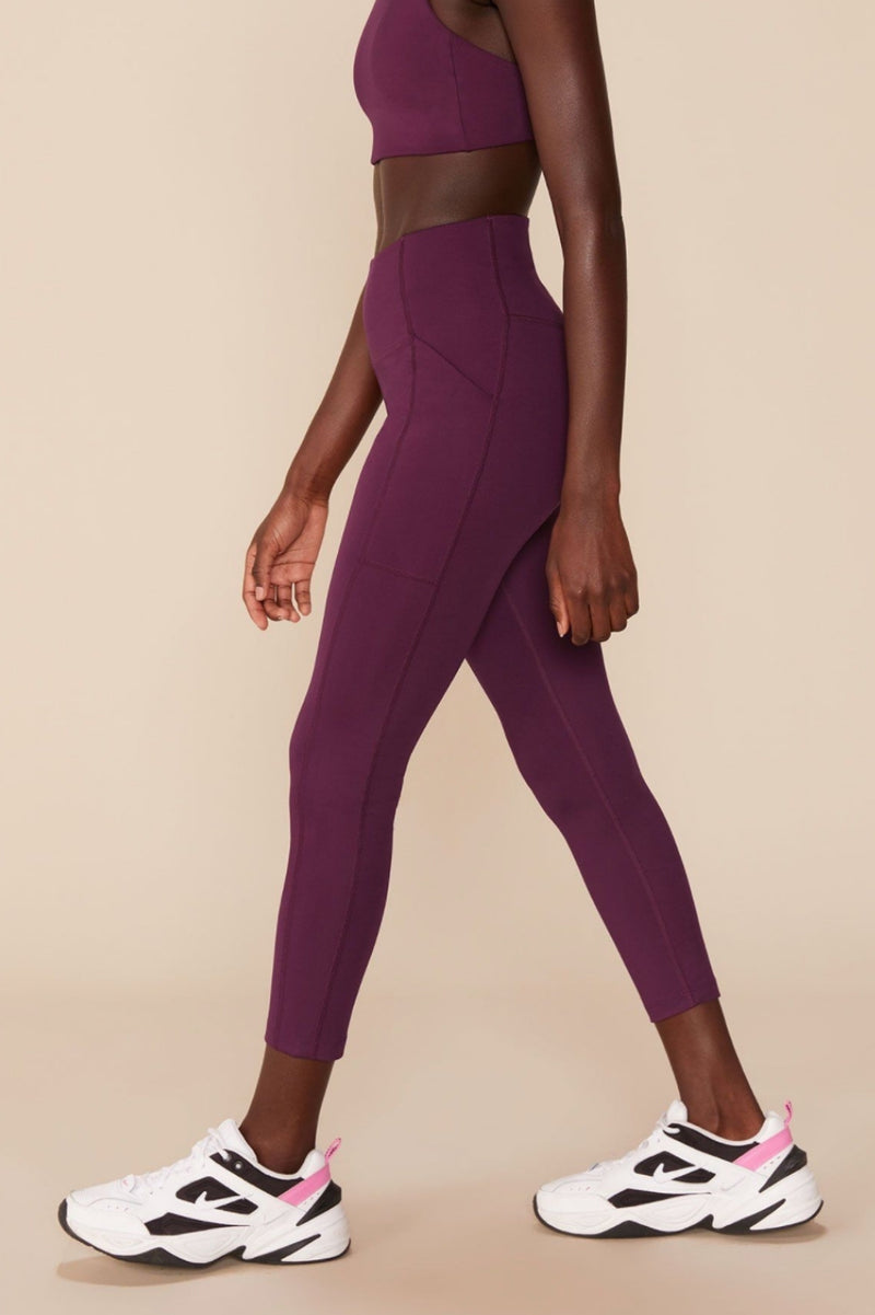Girlfriend Collective - High Rise Pocket Legging 7/8