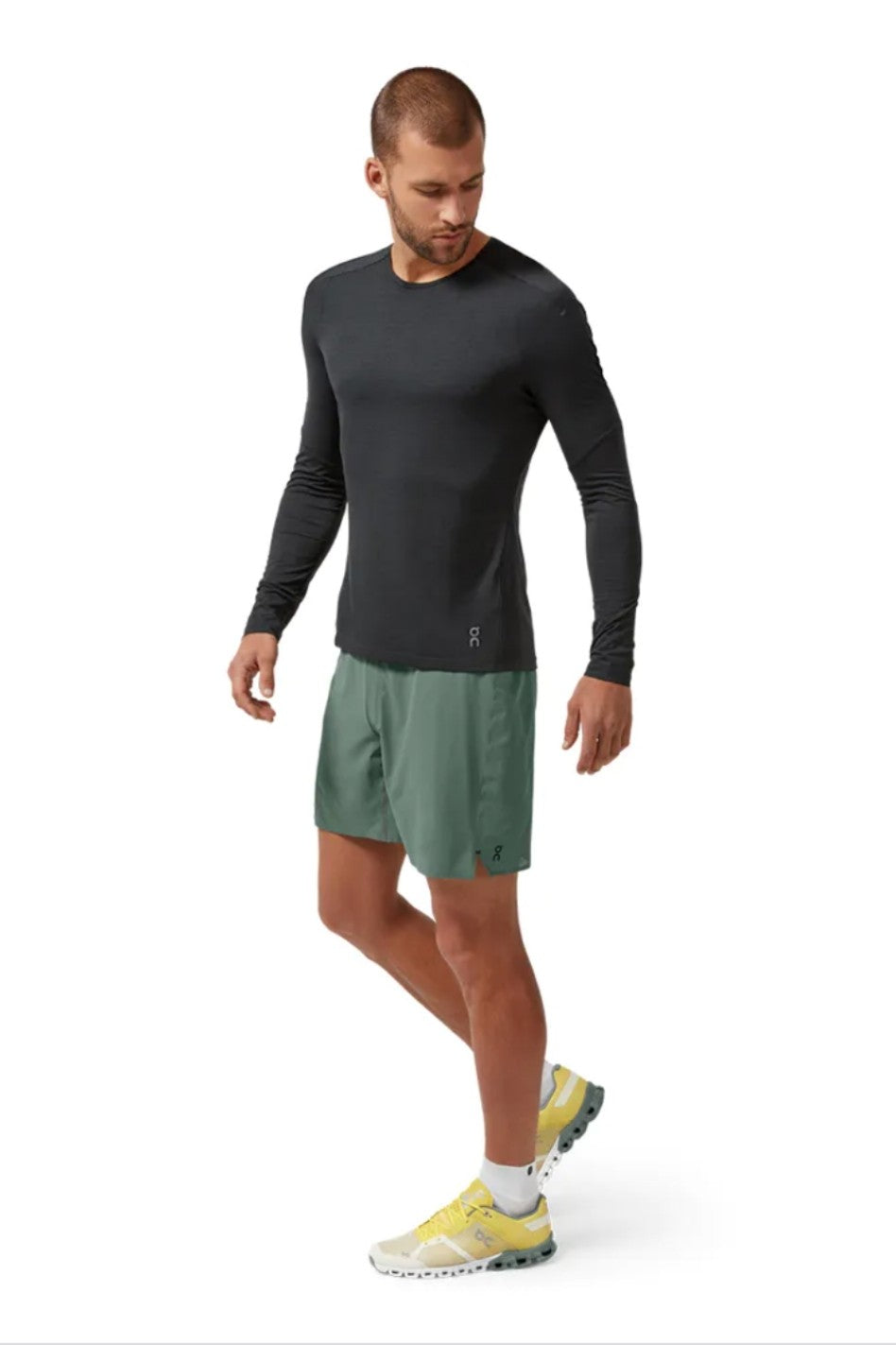 On Running - Performance Long Tee - Mens