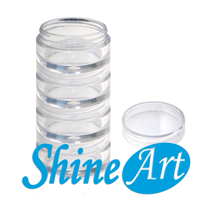 "2.5"" x 5.25"" - Stackable Jars"