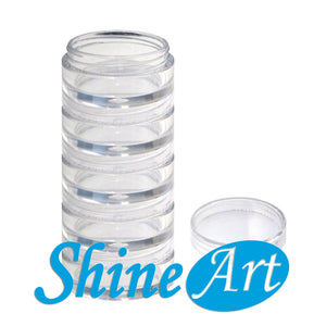 "2"" x 5.25"" - Stackable Jars"
