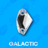 12mm x 19mm Galactic (120 pieces) Pellosa™ Sew  On
