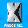 18mm x 25mm Prince Rectangle (48 pieces) Pellosa™ Sew  On