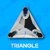 16mm x 16mm Triangle (90 pieces) Pellosa™ Sew  On