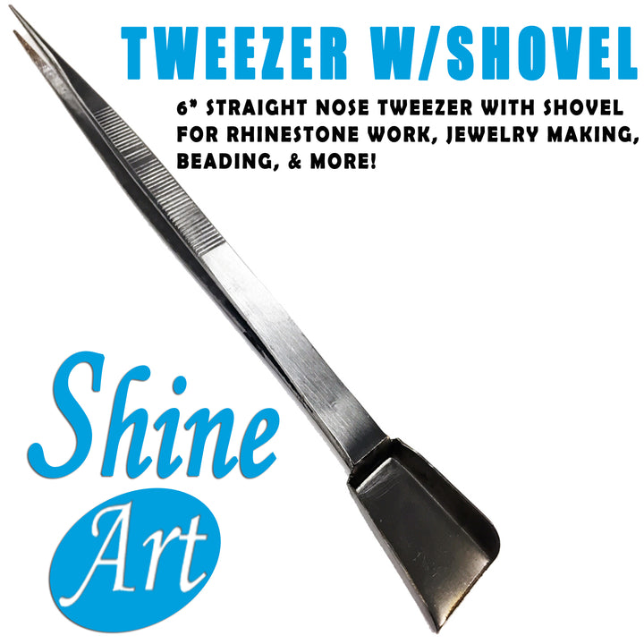 Tweezer with Shovel
