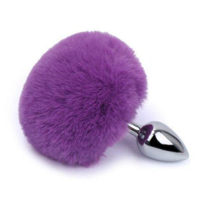 Plug Anal Queue De Lapin Violet