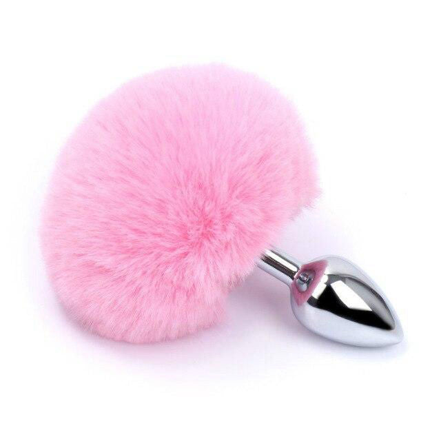 Plug Anal Queue De Lapin Rose Bonbon