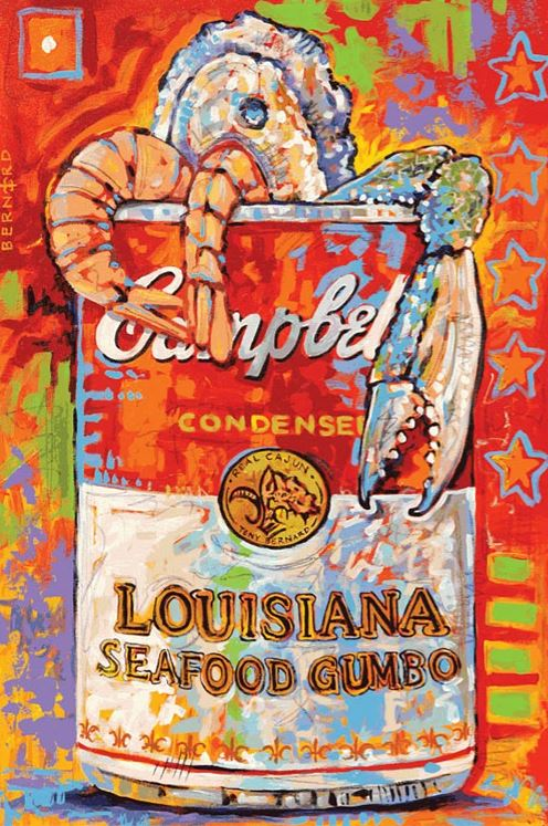 """Louisiana Seafood Gumbo"" by Tony Bernard"