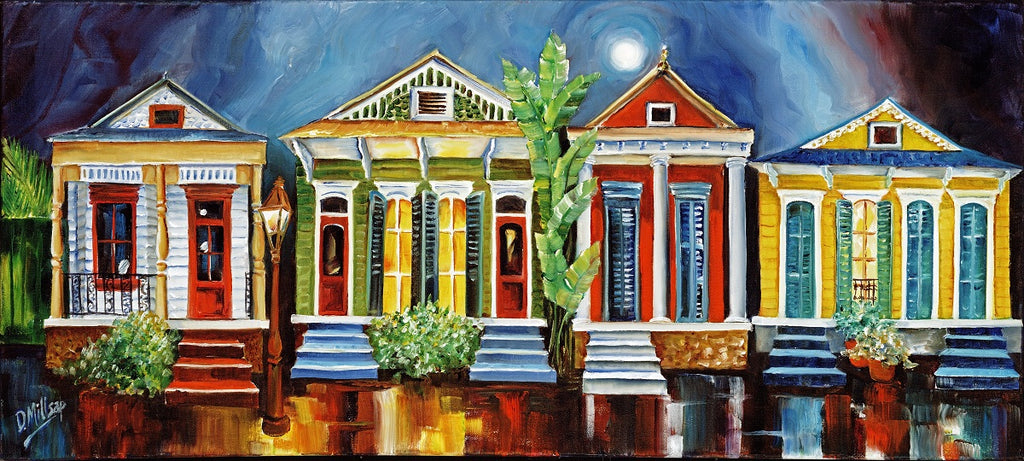 """Magazine Street Revival"" - New Orleans Art Print by Diane Millsap"
