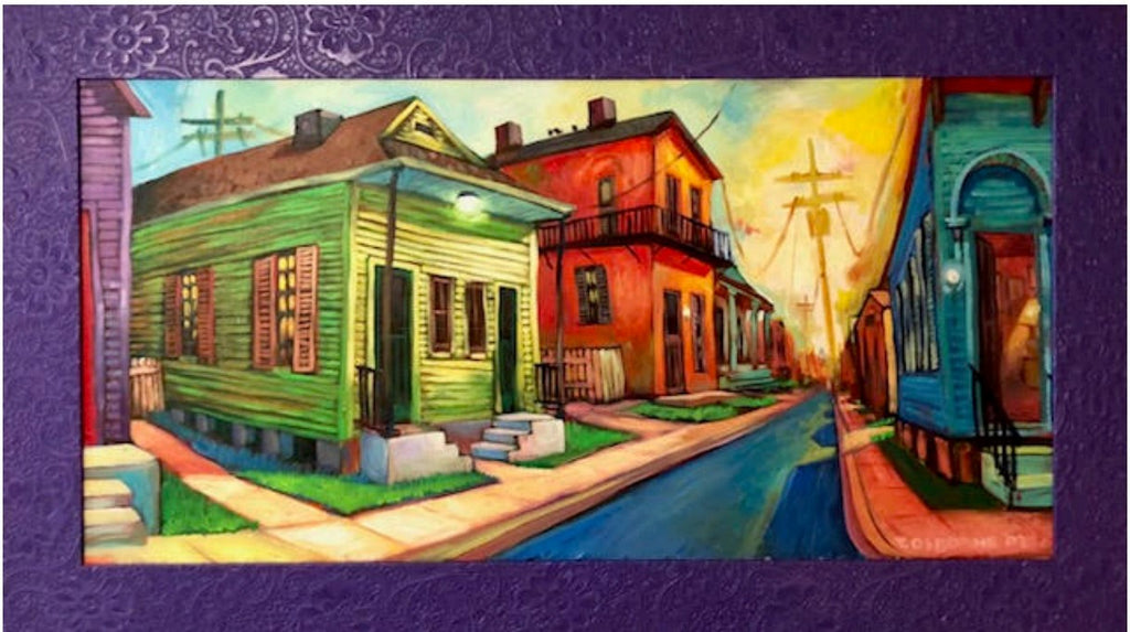 """New Orleans Cityscape"" Original Painting by Terrance Osborne"