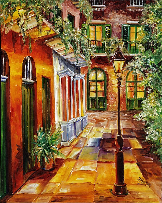 """Pirate Alley Revival"" - New Orleans Art Print by Diane Millsap"