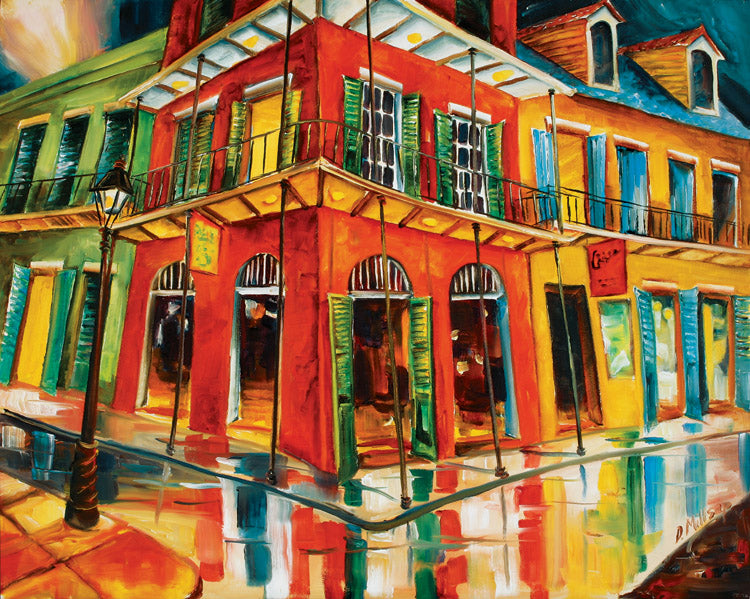 """Royal Street Revival"" - New Orleans Art Print by Diane Millsap"