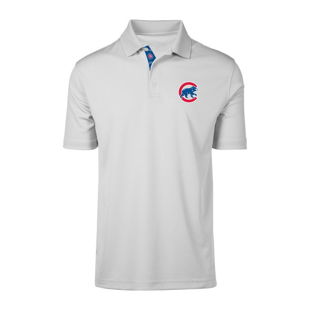 OMAHA WHITE CHICAGO CUBS POLO