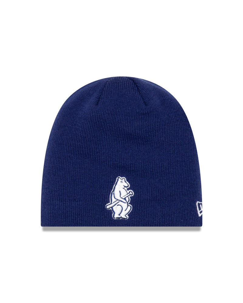NAVY 1914 CHICAGO CUBS KNIT BEANIE