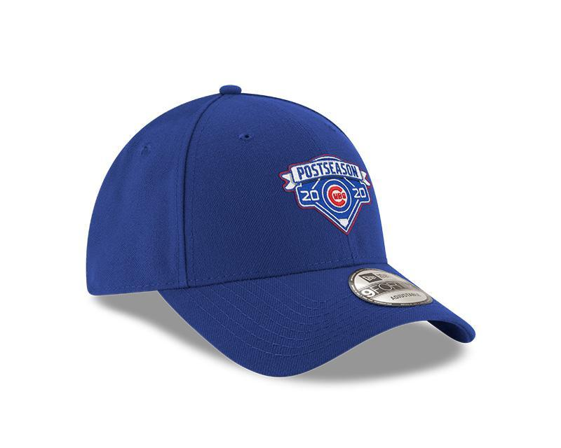 2020 POSTSEASON LOCKER ROOM 9FORTY CHICAGO CUBS ADJUSTABLE CAP