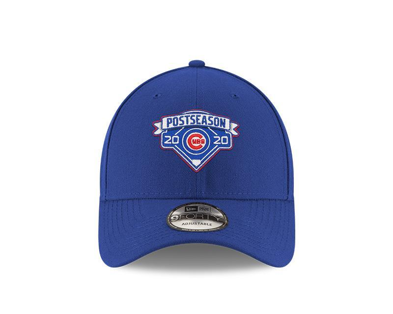 2020 POSTSEASON LOCKER ROOM 9FORTY CHICAGO CUBS ADJUSTABLE CAP - Ivy Shop