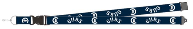 CHICAGO CUBS 1914 COOPERSTOWN LANYARD