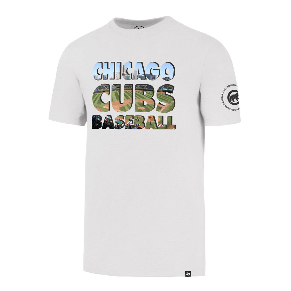 TWO PEAT '47 FLANKER CHICAGO CUBS TEE - Ivy Shop