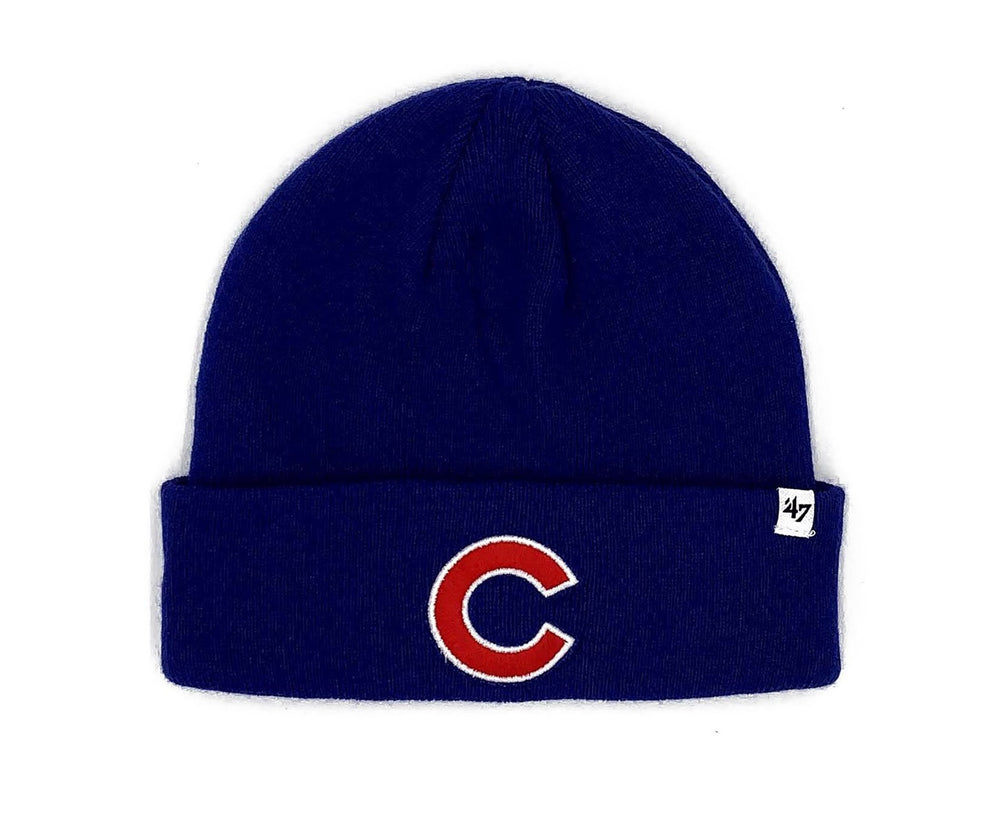 ROYAL C CHICAGO CUBS CUFFED KNIT HAT