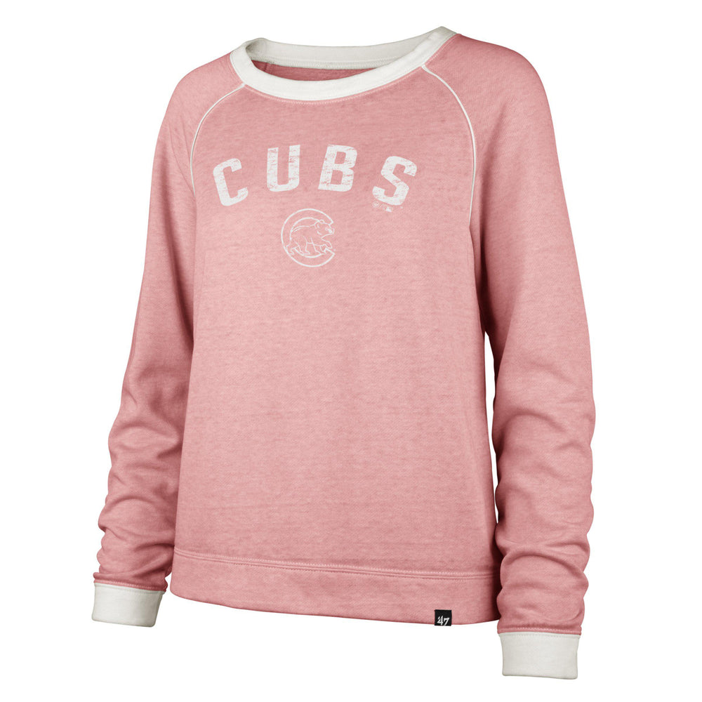 CHICAGO CUBS WOMEN'S '47 FADEOUT BOYFRIEND CREW