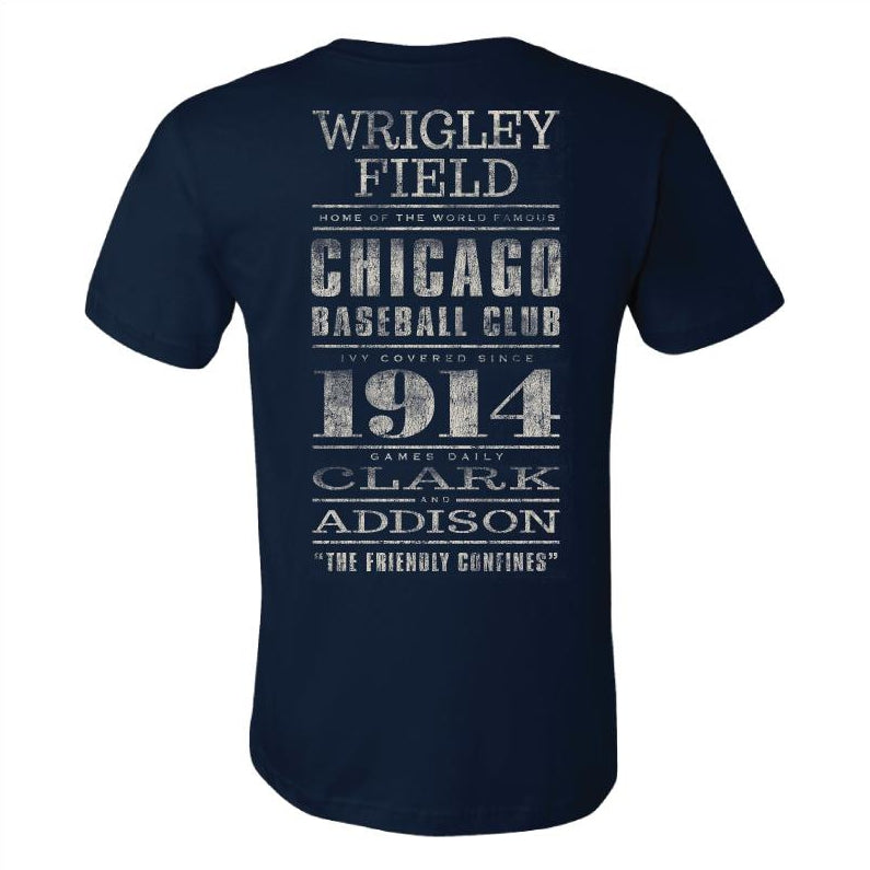 CHICAGO BASEBALL CLUB WRIGLEY FIELD TEE - Ivy Shop