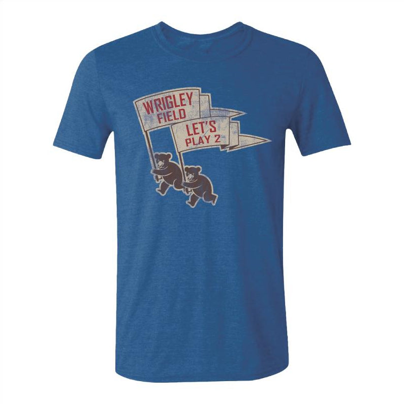 LETS PLAY 2 WRIGLEY FIELD TEE - Ivy Shop