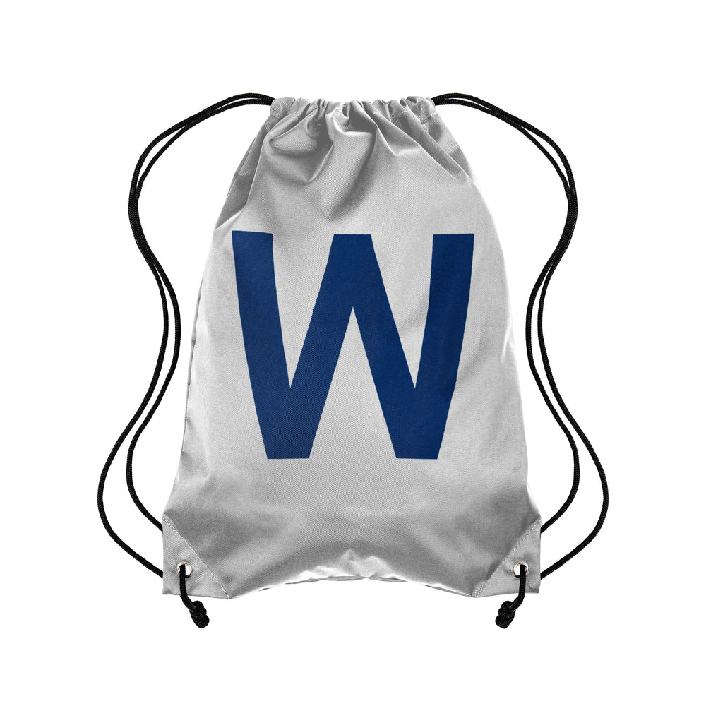 W FLAG CHICAGO CUBS DRAWSTRING BACKPACK