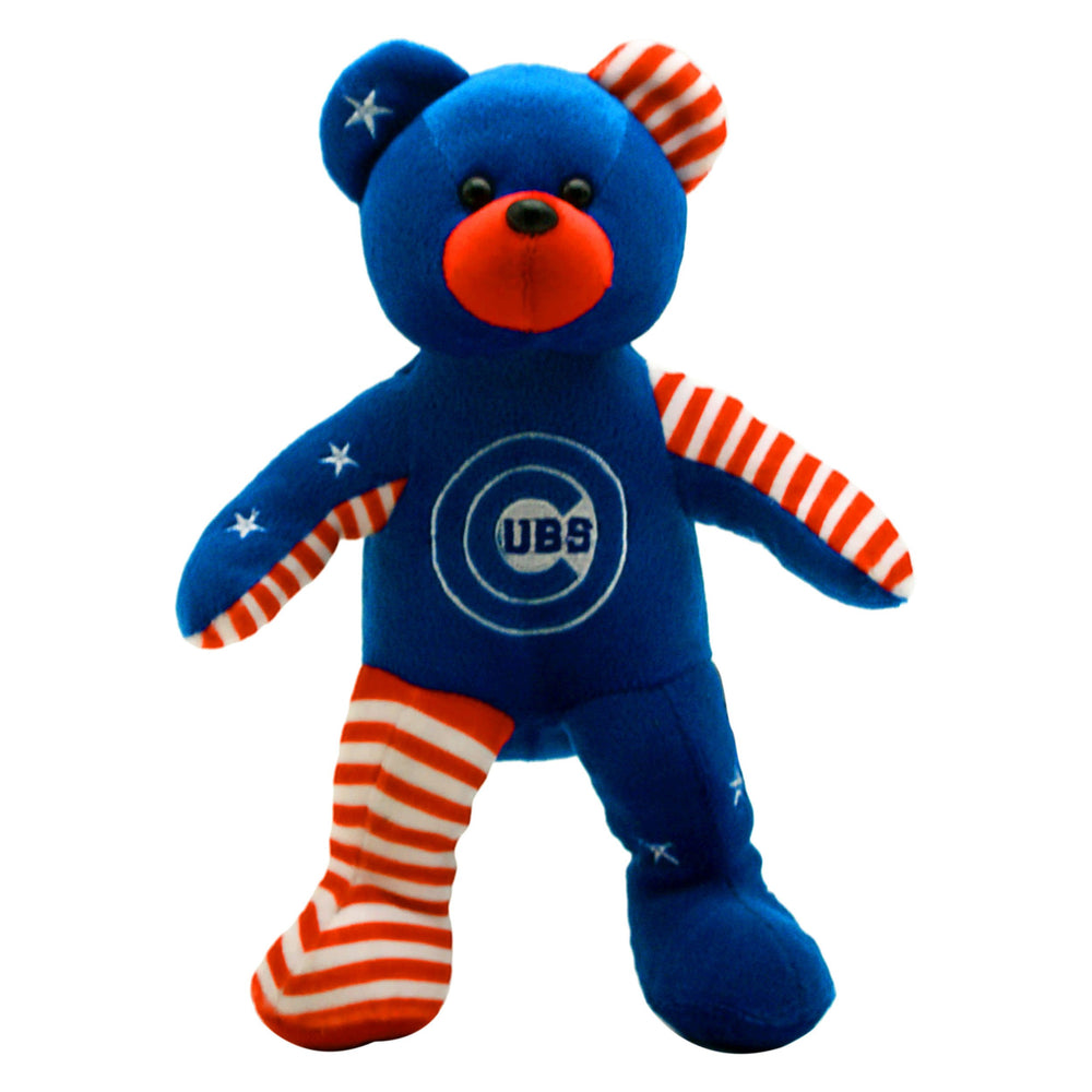 CHICAGO CUBS PATRIOTIC BEANBAG BEAR