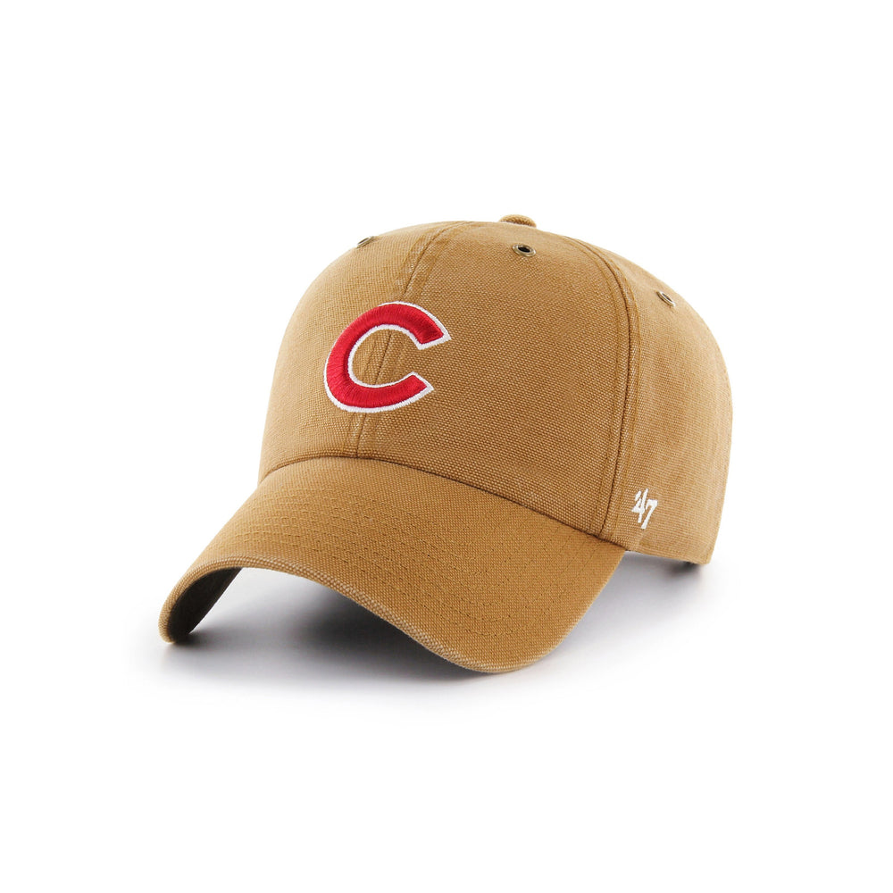 CARHARTT X '47 CLEAN UP CHICAGO CUBS ADJUSTABLE CAP - Ivy Shop